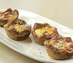 Baked Egg and Toast Cups :: Recipes :: MyPanera