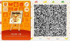 ACNL/ACHHD QR CODE-Pancake Wall Poster