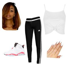 """""""It's Ight"""" by daisydukesss ❤ liked on Polyvore featuring Topshop, adidas and NIKE"""