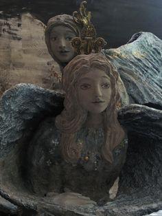 papier mache...Angel