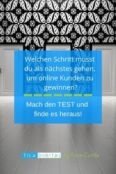 Ein kostenloser #Test, der dir hilft herauszufinden was du als nächstes tun musst in deinem #online-business