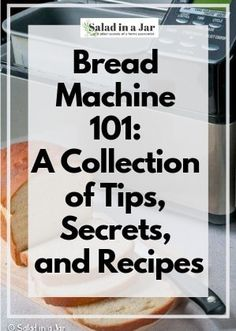 Bread Machine A Collection of Tips and Recipes - Bread Maker - Ideas of Bread Maker Bread Machine Mixes, Easy Bread Machine Recipes, Best Bread Machine, Bread Maker Recipes, Bread Machines, Homemade Rolls, Homemade Breads, Bread Mix, Salad In A Jar