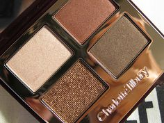 Beauty Favorite: Coming to the US...finally! Woot! Charlotte Tilbury's line. This is the Dolce Vita Quad, and I'm buying it as soon as it becomes available!
