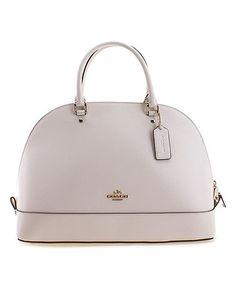Love this Chalk Satchel Shoulder Bag on #zulily! #zulilyfinds