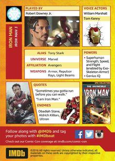 Robert Downey Jr. and Tom Kenny at Iron Man 3 (2013)