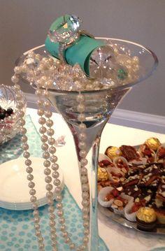 Breakfast at Tiffany's Table Decor