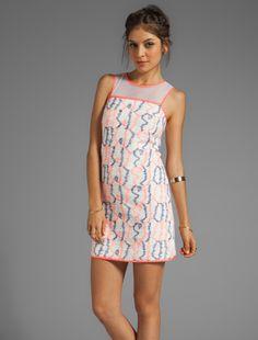 Twiggy style shift dress.