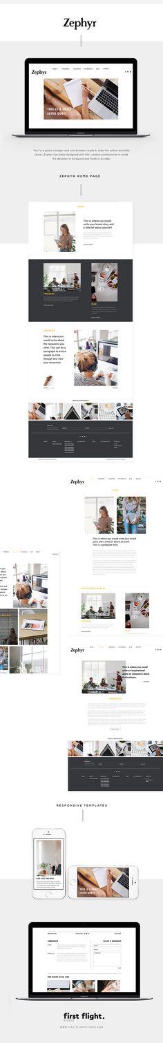 Zephyr theme. WordPress Web Theme. Perfect way to take your brand online. Shop Now.
