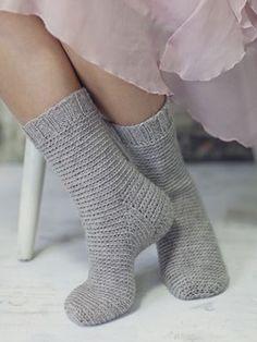 Nordic Yarns and Design since 1928 Wool Socks, Knitting Socks, Baby Knitting, Free Crochet, Knit Crochet, Crochet Hats, Crochet Needles, Textiles, Crochet Slippers