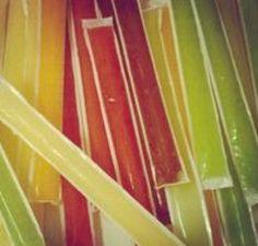 Flases de hielo con sabores