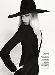 DARIA STROKOUS BY MARIANO VIVANCO FOR VOGUE RUSSIA AUGUST 2011