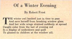 robert frost poems | shades of frost: a hidden source for nabokov's pale fire