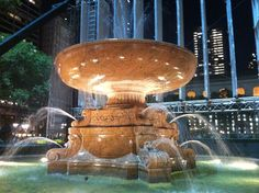 Bryant Park NY NY, my favorite place in all of NYC. Beautiful anytime of year :)