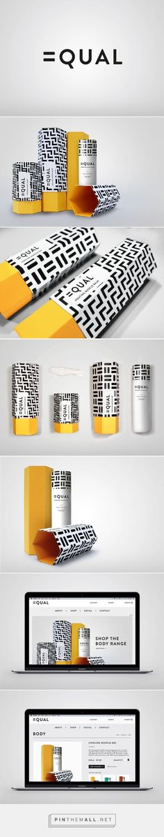 Equal Skincare Branding and Packaging by Claudia Lloyd | Fivestar Branding Agency – Design and Branding Agency & Inspiration Gallery