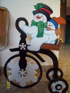 triciclo en madera