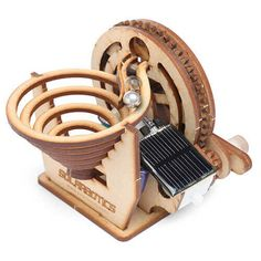 The Marbleocity Marble Machine Is Made Of Pure Wooden
