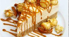 Wat is er nou beter om je het begin van je week wat dragelijker te maken dan een lekkere Salted karamel cheescake? Zo maak je het