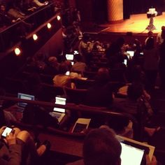 MT @cdorobek: The laptops glowing at #PdF12