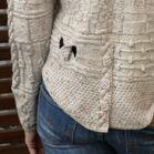 Signatur Handknits - STJK-1660 STJK Split Texture Jacket Wool-0660 Pure New Wool Olive