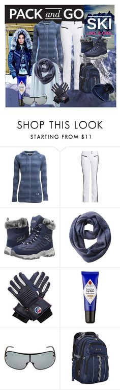 """""""Ski like a girl~!"""" by susan-993 ❤ liked on Polyvore featuring Under Armour, Capranea, Skechers, Columbia, Fusalp, Dolce&Gabbana, Kenneth Cole Reaction, Black and under100"""