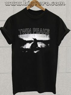 Twin Peaks Tshirt //Price: $14.50    #clothing #shirt #tshirt #tees #tee #graphictee #dtg #bigvero #OnSell #Trends #outfit #OutfitOutTheDay #OutfitDay