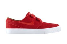 "Nike SB Stefan Janoski AC RS ""University Red"": Advancing its position as one of Nike's most beloved skateboarding sneaker models - next to the Sneakers Fashion, Sneakers Nike, Fresh Shoes, Stefan Janoski, Plimsolls, Kinds Of Shoes, Nike Sb, Skate Shoes, Shoe Game"
