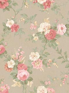 DecoratorsBest - Detail1 - YO LN7506 - ROSE FLORAL - LN7506 - Wallpaper - DecoratorsBest