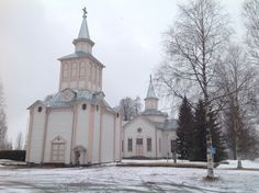 Lutheran Church of Soini, Finland. Lutheran, Good Friday, Finland, Mansions, House Styles, Manor Houses, Villas, Mansion, Palaces