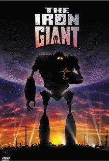The Iron Giant (1999) directed by Brad Bird. Starring Jennifer Aniston, Harry Connick Jr., Eli Marienthal, and Vin Diesel