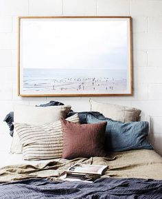 Simple and Ridiculous Ideas Can Change Your Life: Natural Home Decor Inspiration Window natural home decor wood spaces.Natural Home Decor Living Room Coffee Tables natural home decor rustic chairs.Natural Home Decor Inspiration. Dream Bedroom, Home Bedroom, Bedroom Decor, Bedroom Ideas, Bedroom Inspo, Bedroom Colors, Serene Bedroom, Stylish Bedroom, Bedroom Designs