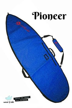 The most stylish eco boardbag available. The Pioneer surfboard bags made to fit your 6' Fish, 6'6 & 7'6 Shortboard or 8'6, 9'6 and 10' Longboard and protect it from dings and dents with eco quality and style.