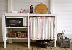 Kesäkeittiö Ikea, Organization, Kitchen, Home Decor, Getting Organized, Organisation, Cooking, Decoration Home, Ikea Co