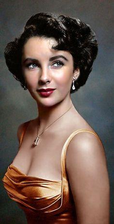 Viejo Hollywood, Hollywood Icons, Old Hollywood Glamour, Hollywood Celebrities, Hollywood Stars, Hollywood Actresses, Classic Hollywood, Elizabeth Taylor Eyes, Elizabeth Taylor Cleopatra