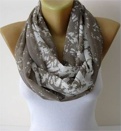 SALE  990 USD-Infinity Scarf Shawl Circle Scarf Loop by MebaDesign