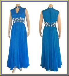 1960's Designer Beaded Evening Gown by Darieux, Paris-New York found on Ruby Lane www.rubylane.com #oscars #vntagefashion #rubylane