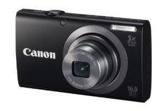 Canon PowerShot A2300 IS 16.0 MP Digital Camera with 5x Digital Image Stabilized Zoom 28mm Wide-Angle Lens with 720p HD Video Recording (Black)  Order at http://www.amazon.com/dp/B0075SUHQC/?tag=cl2d-20