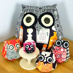 Sewing owls!