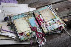 Vintage Cafe Card Challenge: Все в сад! Вдохновение по GardenBook от Эли Гафаровой.