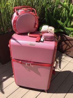 Samsonite Black Label Vintage Collection Beauty Bag pink/red New ...