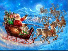 Santa's Magical Flight