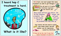 I heard Hep C treatment is hard. What is it like?