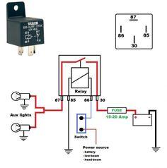 24v relay wiring diagram 5 pin easy brain bosch schematic best ac