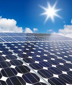Solar panels - Clean natural energy.  (Photo credit: Anusorn P Nachol, FreeDigitalPhotos.net)
