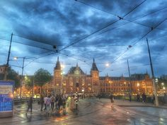 Amsterdam station, Netherlands