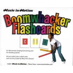 flashcards for composing w/ Boomwhackers