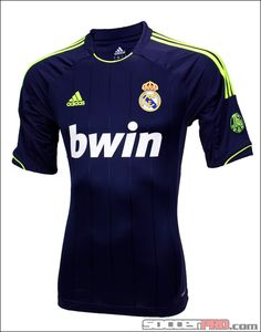 adidas Real Madrid Away Jersey 2012-2013...$84.99