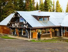 Tatogga Lake Resort is one of the few places to stay on a Cassiar Highway road trip in northern British Columbia. We included the Cassiar Highway on our Alaska road trip itinerary.