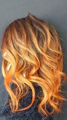 orange crush ombre'