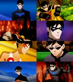 Oh, how I love this boy. As Robin, as Nightwing, as Batman. He could go on a murdering rampage and I would still love him.