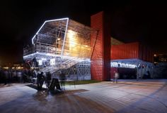 Shipping Container Restaurante